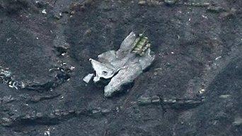 Обломок упавшего самолета Airbus A320