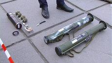 Изъятое оружие. Архивное фото