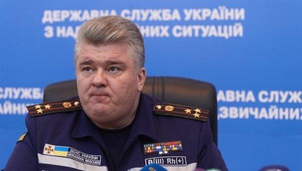 Председатель Государственной службы по чрезвычайным ситуациям Сергей Бочковский