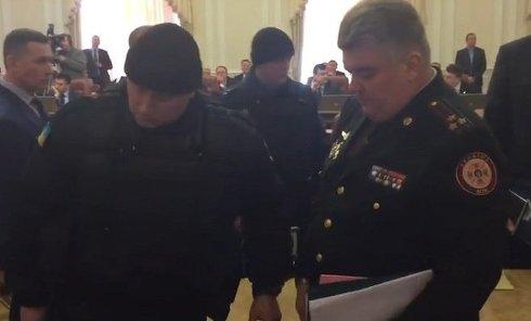 Арест Бочковского в Кабмине