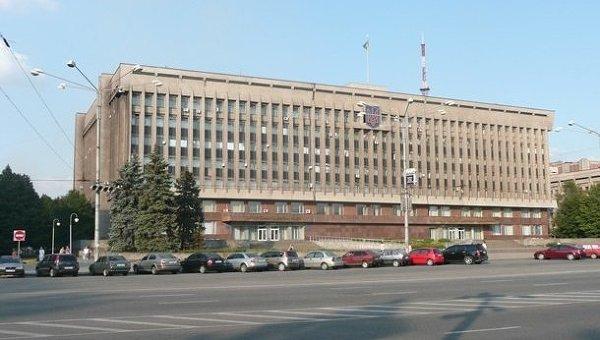 Площадь перед Запорожской ОГА. Архивное фото