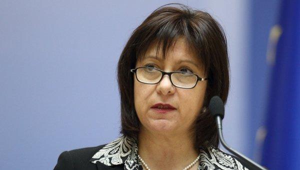 Министр финансов Украини Наталия Яресько. Архивное фото
