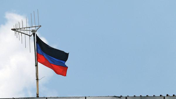 Флаг самопровозглашенной ДНР