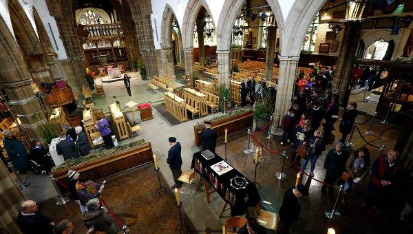 Ричард III перезахоронен в Лестере