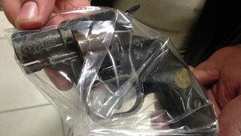 Оружие, изъятое в ходе задержания преступной группы в Киеве