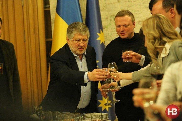 Игорь Коломойский и Святослав Олийнык
