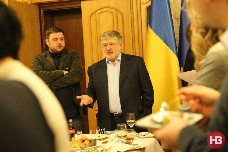 Игорь Коломойский на прощальной вечеринке