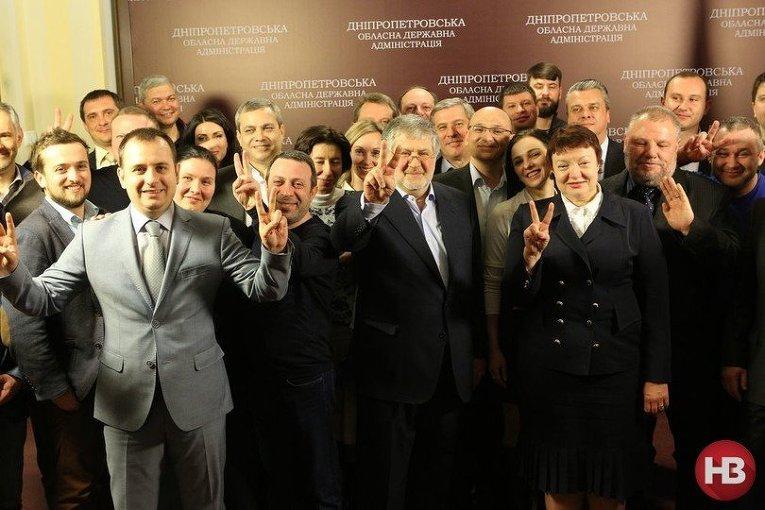Прощальная вечеринка команды Игоря Коломойского