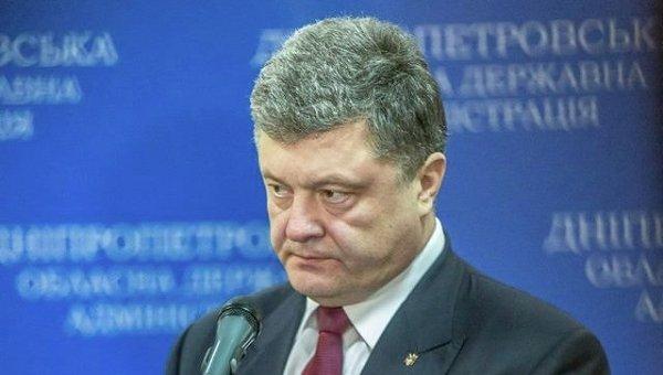 Петр Порошенко в ходе визита в Днепропетровск