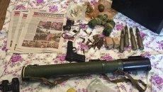 Изъятое оружие у мужчины, планировавшего теракт в Днепропетровске
