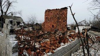 Ситуация в Логвиново Донецкой области. Архивное фото