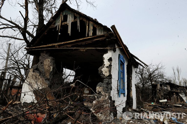 Ситуация в Логвиново Донецкой области