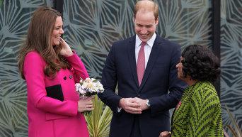 Выход в свет Герцогини Кембриджской перед родами