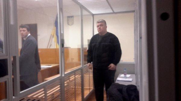 Сергей Бочковский на заседании суда