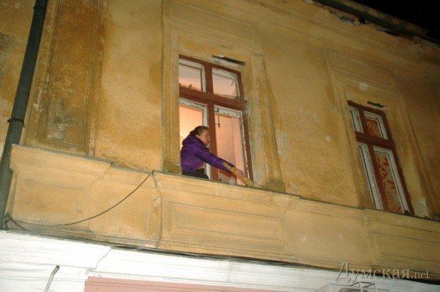 Взрыв в волонтерском центре в Одессе