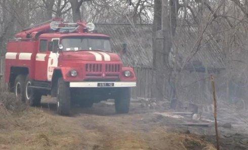 В Черниговской области выгорело почти все село
