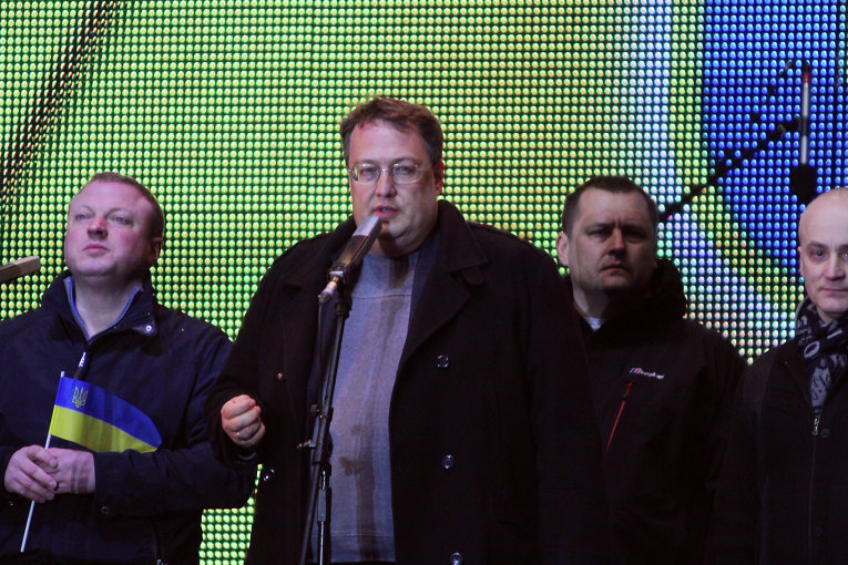 Прощальное вече команды Коломойского. Антон Геращенко