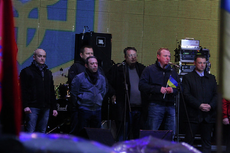 Прощальное вече команды Коломойского