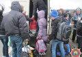 Возвращение школьников в Дебальцево
