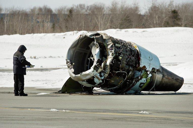 Инцидент с канадским самолетом