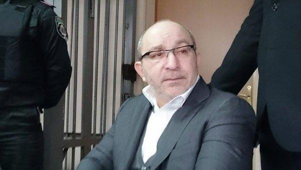 Геннадий Кернес в суде