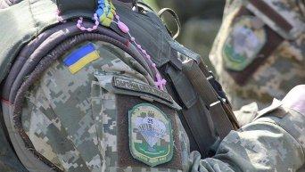 Нашивка на форме украинского военного