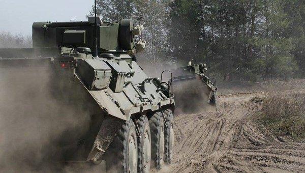 Учения украинских военных. Архивное фото