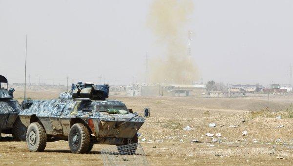 Военная техника иракских сил безопасности