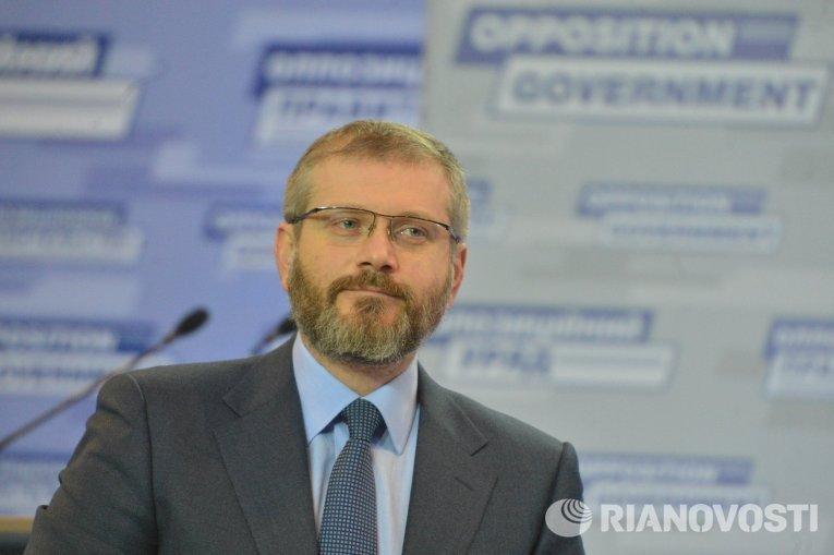 Заместитель председателя фракции Оппозиционного блока Александр Вилкул