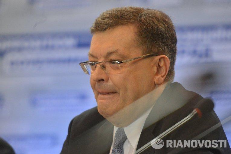Министр иностранных дел теневого правительства Константин Грищенко