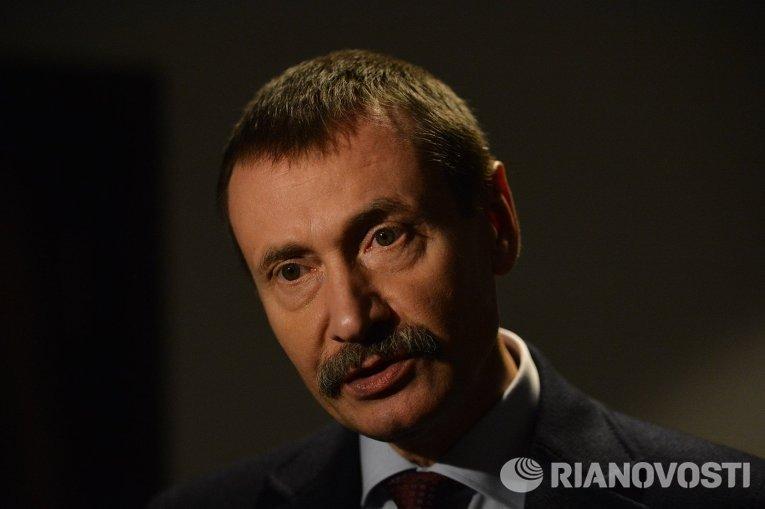 Министр социального обеспечения теневого правительства Михаил Папиев