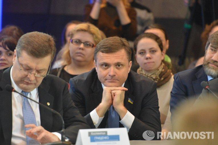 Народный депутат Оппозиционного блока Сергей Левочкин