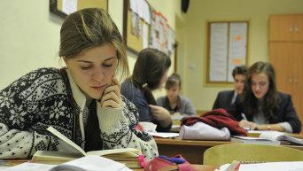 Учащиеся на занятиях