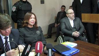Защищает обвиняемых бывшая глава Высшего совета юстиции Украины Лидия Изовитова