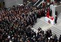 Похороны прокурора Селима Кираза в Стамбуле