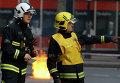 Пожарные в Лондоне