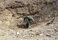 Саперы ВСУ очищают местность от неразорвавшихся снарядов