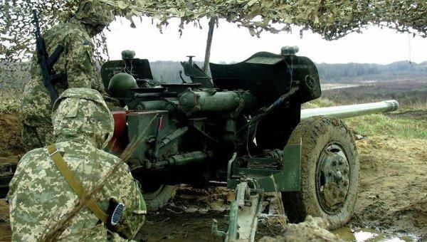 Противотанковое орудие Рапира ВСУ. Архивное фото