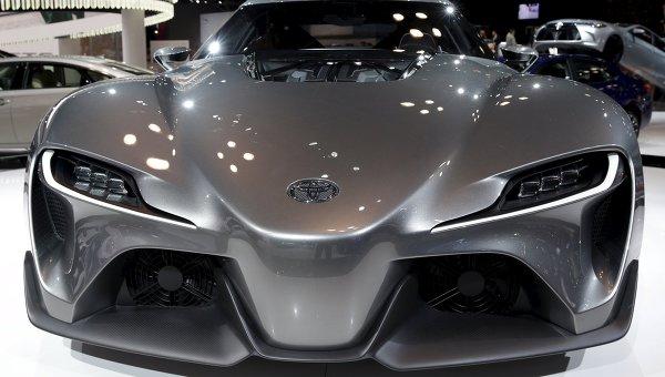 Toyota FT1 concept car
