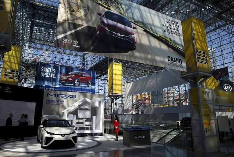 В Нью-Йорке стартовал всемирно известный международный автосалон