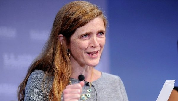 Представитель США при ООН Саманта Пауэр