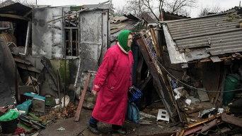 Жительница Дебальцево, 13 марта, 2015 г