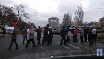 Протест в Запорожье