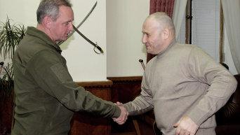 Виктор Муженко и Дмитрий Ярош