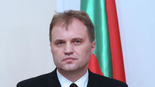 Евгений Шевчук - президент непризнанной ПМР. Архивное фото