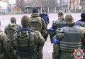 Усиленное патрулирование милицией городов Донецкой области