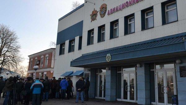 Митинг на Харьковском авиационном заводе