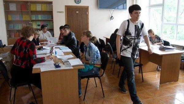 Украинские студенты. Архивное фото