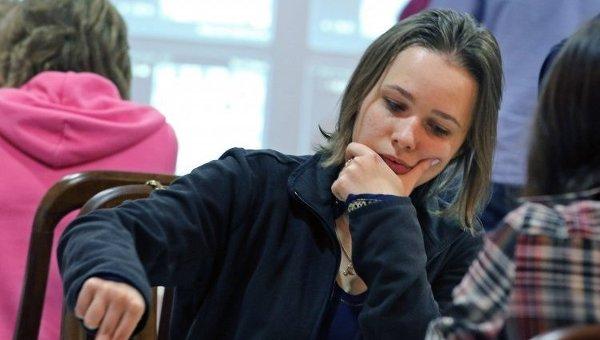 Международный гроссмейстер, член национальной сборной Украины по шахматам Мария Музычук