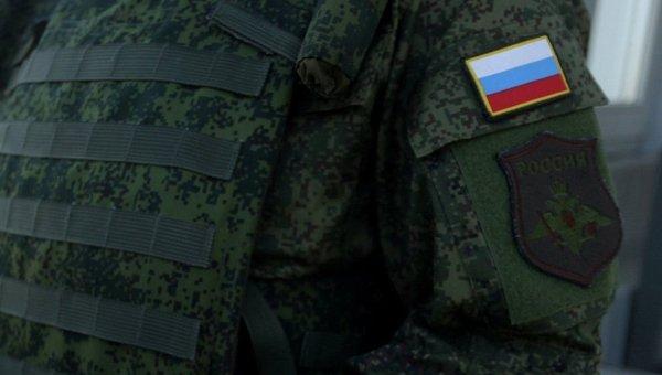 Российский военный. Архивное фото